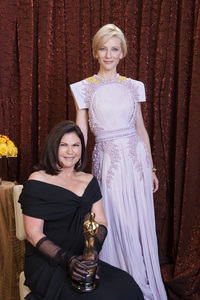 """""""The Academy Awards - 83rd Annual"""" (Backstage) Colleen Atwood, Cate Blanchett2-27-2011Photo by Tom Wawrychuk © 2011 A.M.P.A.S. - Image 24036_0196"""