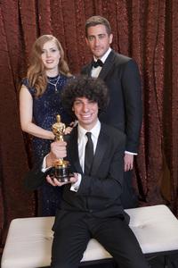 """The Academy Awards - 83rd Annual"" (Backstage) Luke Matheny, Amy Adams, Jake Gyllenhaal2-27-2011Photo by Tom Wawrychuk © 2011 A.M.P.A.S. - Image 24036_0201"
