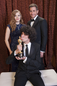 """The Academy Awards - 83rd Annual"" (Backstage) Luke Matheny, Amy Adams, Jake Gyllenhaal2-27-2011Photo by Tom Wawrychuk © 2011 A.M.P.A.S. - Image 24036_0202"