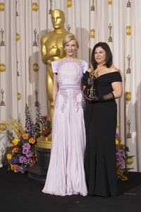"""""""The Academy Awards - 83rd Annual"""" (Press Room) Cate Blanchett, Colleen Atwood2-27-2011Photo by Rick Salyer © 2011 A.M.P.A.S. - Image 24036_0275"""