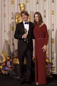 """""""The Academy Awards - 83rd Annual"""" (Press Room) Tom Hooper, Kathryn Bigelow2-27-2011Photo by Rick Salyer © 2011 A.M.P.A.S. - Image 24036_0294"""