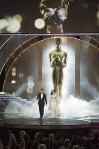 """""""The Academy Awards - 83rd Annual"""" (Telecast) James Franco, Anne Hathaway02-27-2011 Photo by Michael Yada © 2011 A.M.P.A.S. - Image 24036_0298"""