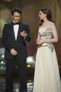"""""""The Academy Awards - 83rd Annual"""" (Telecast) James Franco, Anne Hathaway02-27-2011 Photo by Michael Yada © 2011 A.M.P.A.S. - Image 24036_0299"""