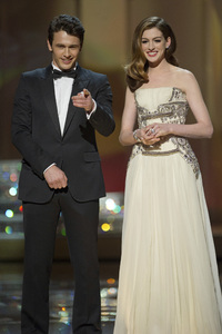 """""""The Academy Awards - 83rd Annual"""" (Telecast) James Franco, Anne Hathaway02-27-2011 Photo by Michael Yada © 2011 A.M.P.A.S. - Image 24036_0300"""