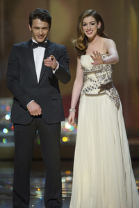 """""""The Academy Awards - 83rd Annual"""" (Telecast) James Franco, Anne Hathaway02-27-2011 Photo by Michael Yada © 2011 A.M.P.A.S. - Image 24036_0301"""