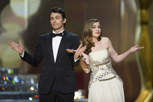 """""""The Academy Awards - 83rd Annual"""" (Telecast) James Franco, Anne Hathaway02-27-2011 Photo by Michael Yada © 2011 A.M.P.A.S. - Image 24036_0302"""