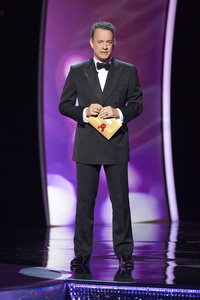 """""""The Academy Awards - 83rd Annual"""" (Telecast) Tom Hanks02-27-2011 Photo by Michael Yada © 2011 A.M.P.A.S. - Image 24036_0303"""