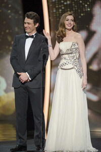 """""""The Academy Awards - 83rd Annual"""" (Telecast) James Franco, Anne Hathaway02-27-2011 Photo by Michael Yada © 2011 A.M.P.A.S. - Image 24036_0315"""