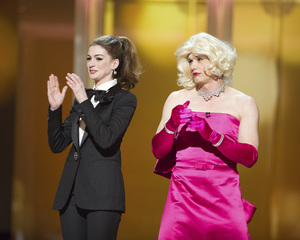 """""""The Academy Awards - 83rd Annual"""" (Telecast) Anne Hathaway, James Franco02-27-2011 Photo by Michael Yada © 2011 A.M.P.A.S. - Image 24036_0322"""