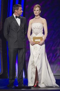 """The Academy Awards - 83rd Annual"" (Telecast) Hugh Jackman, Nicole Kidman02-27-2011 Photo by Michael Yada © 2011 A.M.P.A.S. - Image 24036_0330"
