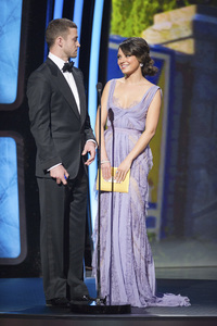 """""""The Academy Awards - 83rd Annual"""" (Telecast) Justin Timberlake, Mila Kunis02-27-2011 Photo by Michael Yada © 2011 A.M.P.A.S. - Image 24036_0340"""