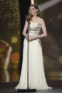 """""""The Academy Awards - 83rd Annual"""" (Telecast) Anne Hathaway02-27-2011 Photo by Michael Yada © 2011 A.M.P.A.S. - Image 24036_0345"""