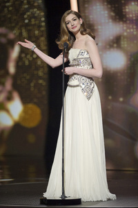 """""""The Academy Awards - 83rd Annual"""" (Telecast) Anne Hathaway02-27-2011 Photo by Michael Yada © 2011 A.M.P.A.S. - Image 24036_0346"""