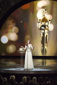 """""""The Academy Awards - 83rd Annual"""" (Telecast) Anne Hathaway02-27-2011 Photo by Michael Yada © 2011 A.M.P.A.S. - Image 24036_0349"""