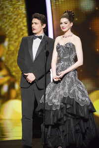"""""""The Academy Awards - 83rd Annual"""" (Telecast) James Franco, Anne Hathaway02-27-2011 Photo by Michael Yada © 2011 A.M.P.A.S. - Image 24036_0363"""