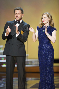 """""""The Academy Awards - 83rd Annual"""" (Telecast) Jake Gyllenhaal, Amy Adams02-27-2011 Photo by Michael Yada © 2011 A.M.P.A.S. - Image 24036_0370"""