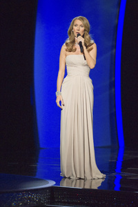 """""""The Academy Awards - 83rd Annual"""" (Telecast) Celine Dion02-27-2011 Photo by Michael Yada © 2011 A.M.P.A.S. - Image 24036_0390"""