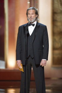 """""""The Academy Awards - 83rd Annual"""" (Telecast) Jeff Bridges02-27-2011 Photo by Michael Yada © 2011 A.M.P.A.S. - Image 24036_0394"""