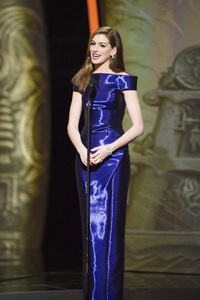 """""""The Academy Awards - 83rd Annual"""" (Telecast) Anne Hathaway02-27-2011 Photo by Michael Yada © 2011 A.M.P.A.S. - Image 24036_0398"""