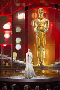 """""""The Academy Awards - 83rd Annual"""" (Telecast) Hilary Swank02-27-2011 Photo by Michael Yada © 2011 A.M.P.A.S. - Image 24036_0407"""