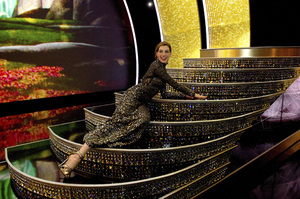 """""""The Academy Awards - 83rd Annual"""" (Telecast) Anne Hathaway02-27-2011 Photo by Richard Harbaugh © 2011 A.M.P.A.S. - Image 24036_0429"""