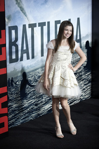 """""""Battle: Los Angeles"""" Premiere  Jadin Gould, , Joey King3-8-2011 / Columbia Pictures / Regency Village Theater / Westwood CA / Photo by Benny Haddad - Image 24037_0060"""