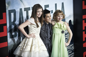 """Battle: Los Angeles"" Premiere  Jadin Gould, Bryce Cass, Joey King3-8-2011 / Columbia Pictures / Regency Village Theater / Westwood CA / Photo by Benny Haddad - Image 24037_0061"