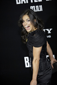 """""""Battle: Los Angeles"""" Premiere   Michelle Rodriguez 3-8-2011 / Columbia Pictures / Regency Village Theater / Westwood CA / Photo by Benny Haddad - Image 24037_0158"""