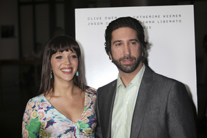 """Trust"" PremiereZoe Buckman, David Schwimmer 3-21-2011 / Millennium Entertainment / DGA Theater / Hollywood CA / Photo by Imeh Akpanudosen - Image 24042_0122"