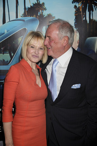 """His Way"" Premiere Ellen Barkin, Jerry Weintraub 3-22-2011 / HBO / Paramount Theater / Hollywood CA / Photo by Imeh Akpanudosen - Image 24043_0187"