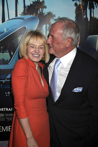 """His Way"" Premiere Ellen Barkin, Jerry Weintraub 3-22-2011 / HBO / Paramount Theater / Hollywood CA / Photo by Imeh Akpanudosen - Image 24043_0188"