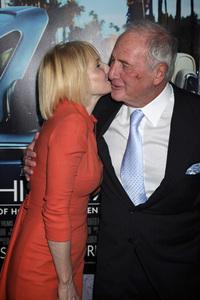 """His Way"" Premiere Ellen Barkin, Jerry Weintraub 3-22-2011 / HBO / Paramount Theater / Hollywood CA / Photo by Imeh Akpanudosen - Image 24043_0189"