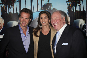 """His Way"" Premiere Rande Gerber, Cindy Crawford, Jerry Weintraub  3-22-2011 / HBO / Paramount Theater / Hollywood CA / Photo by Imeh Akpanudosen - Image 24043_0205"