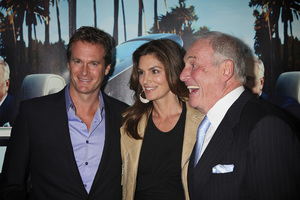 """His Way"" Premiere Rande Gerber, Cindy Crawford, Jerry Weintraub  3-22-2011 / HBO / Paramount Theater / Hollywood CA / Photo by Imeh Akpanudosen - Image 24043_0207"