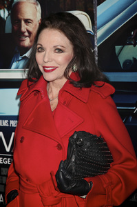 """""""His Way"""" Premiere Joan Collins 3-22-2011 / HBO / Paramount Theater / Hollywood CA / Photo by Imeh Akpanudosen - Image 24043_0232"""