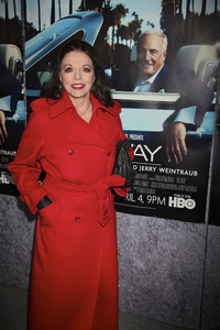 """""""His Way"""" Premiere Joan Collins 3-22-2011 / HBO / Paramount Theater / Hollywood CA / Photo by Imeh Akpanudosen - Image 24043_0234"""