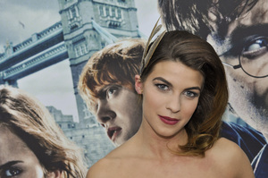 """""""Harry Potter: The Exhibition""""Natalia Tena4-4-2011 / Discovery Times Square / New York NY / Warner Brothers / Photo by Eric Reichbaum - Image 24044_0010"""