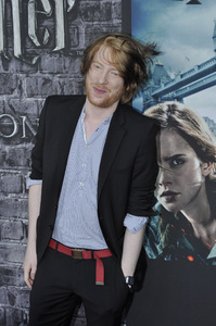 """Harry Potter: The Exhibition""Domhnall Gleeson4-4-2011 / Discovery Times Square / New York NY / Warner Brothers / Photo by Eric Reichbaum - Image 24044_0026"