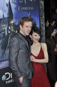 """""""Harry Potter: The Exhibition""""Damian Lewis, Helen McCroy4-4-2011 / Discovery Times Square / New York NY / Warner Brothers / Photo by Eric Reichbaum - Image 24044_0028"""