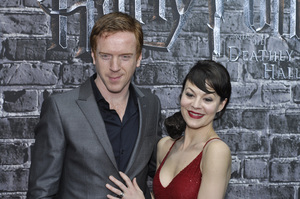 """""""Harry Potter: The Exhibition""""Damian Lewis, Helen McCroy4-4-2011 / Discovery Times Square / New York NY / Warner Brothers / Photo by Eric Reichbaum - Image 24044_0030"""