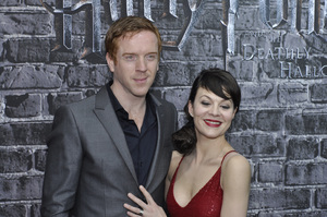 """Harry Potter: The Exhibition""Damian Lewis, Helen McCroy4-4-2011 / Discovery Times Square / New York NY / Warner Brothers / Photo by Eric Reichbaum - Image 24044_0032"