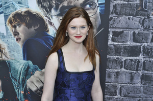 """Harry Potter: The Exhibition""Bonnie Wright4-4-2011 / Discovery Times Square / New York NY / Warner Brothers / Photo by Eric Reichbaum - Image 24044_0052"