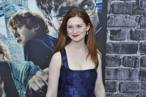 """Harry Potter: The Exhibition""Bonnie Wright4-4-2011 / Discovery Times Square / New York NY / Warner Brothers / Photo by Eric Reichbaum - Image 24044_0053"