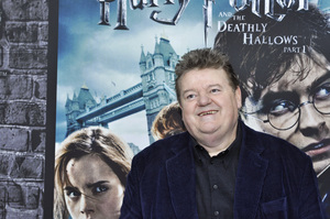 """""""Harry Potter: The Exhibition""""Robbie Coltrane4-4-2011 / Discovery Times Square / New York NY / Warner Brothers / Photo by Eric Reichbaum - Image 24044_0059"""