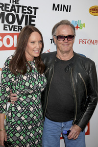 """""""The Greatest Movie Ever Sold"""" Premiere Parky DeVogelaere, Peter Fonda4-20-2011 / ArcLight Cinemas / Hollywood CA / Sony Pictures Classics / Photo by Imeh Akpanudosen - Image 24045_0120"""