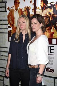 """Cinema Verite"" Premiere Hope Davis, Marcia Gay Harden4-11-2011 / Paramount Theater / Hollywood CA / HBO / Photo by Imeh Akpanudosen - Image 24046_0222"