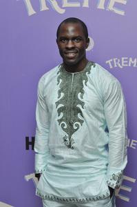 """Treme"" PremiereGbenga Akinnagbe4-21-2011 / Museum of Modern Art / New York NY / HBO / Photo by Eric Reichbaum - Image 24047_0288"