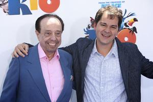 """Rio"" Premiere Sergio Mendes, Carlos Saldanha4-10-2011 / Grauman"