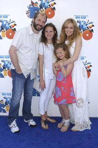 """""""Rio"""" Premiere Judd Apatow, Leslie Mann 4-10-2011 / Grauman"""