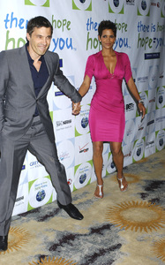 """""""Jenesse Silver Rose Luncheon""""     Olivier Martinez, Halle Berry4-17-2011 / Beverly Hills Hotel / Beverly Hills CA / Photo by Gary Lewis - Image 24054_0011"""